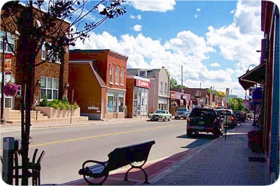 Downtown Acton Ontario